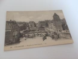 CA - 100 - STRASBOURG - Vue Prise Des Ponts Couverts - Strasbourg