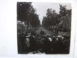 Grand Prix Automobile 1913 Circuit Le Mans (72 - Sarthe) Le Vainqueur Bablot - Vue Stéréoscopique Photo - Plaques De Verre