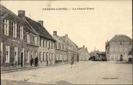 Cp Zegers Cappel Nord, La Grand'Place - Autres Communes
