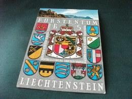 STORIA POSTALE FRANCOBOLLO STEMMI FURSTENTUM LIECHTENSTEIN SCHLOSS FURSTLICHE RESIDENZ - Liechtenstein