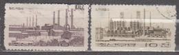 Korea North 1965 Mi# 619-620 Steelworks Used - Corea Del Norte