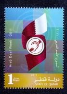 2011 Qatar Arab Deaf Week 1 Values MNH - Qatar