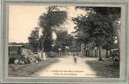 CPA - LANGRUNE-sur-MER (14) - Aspect De La Roulotte De Romanichel à L'entrée Du Village Du Petit Chapeau En 1910 - Villerville