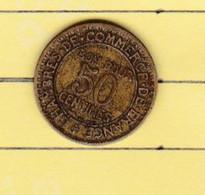 """Monnaies & Billets > Monnaies > France > """"50 Centimes Chambre Du Commerce """" 1926 Coin Tourné (12) - France"""
