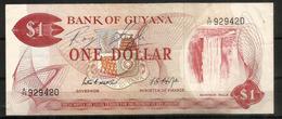 One $  Bank Of Guyana ,  Neuf, UNC - Guyana