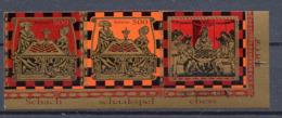 BIELORUSSIE BELARUS 2005,  ECHECS / CHESS, Non Dentelés / IMPERFORATED, 2 Val. + 1 Vignette / Label, Neufs / Mint. R2069 - Belarus