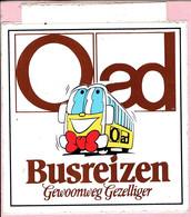 Sticker - O Ad Busreizen - Gewoonweg Gezelligger - Autocollants