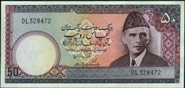 PAKISTAN - 50 Rupees Nd.(1977-1982) {sign. A.G.N. Kazi} AU-UNC P.30 (2) - Pakistan