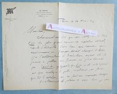 L.A.S 1932 Adolphe DE FALGAIROLLE - Le MATIN - Carles Soldevila écrivain Catalan - Eva - Charensol - Lettre Autographe - Autógrafos