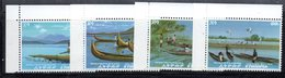 ETP272 - ETIOPIA 1972 ,  Serie Yvert  N. 618/621  ***  MNH Barche - Ethiopia