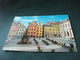 STORIA POSTALE FRANCOBOLLO  SVEZIA SVERIGE  STOCKHOLM STORTORGET - Svezia