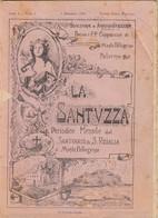 """SANTA ROSALIA - PALERMO _ 1926   /   """" LA SANTUZZA """"  Periodico Mensile Del Santuario _ Anno I Numeri Dal 1 Al 4 - Religion"""
