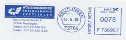 Freistempel 2507 Ammonit Philharmoniker Reutlingen Marie Curie - [7] Repubblica Federale