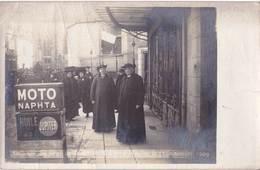 Carte Photo  : Moulins  (03) Fête De Jeanne D'Arc  21 Novembre 1909  Ed Scharlowsky Moto Naphta - Lieux
