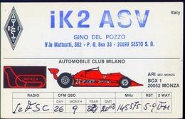 Radio - Automobile Clum Milano - Ik2asv - Sesto San Giovanni - Radio Amatoriale
