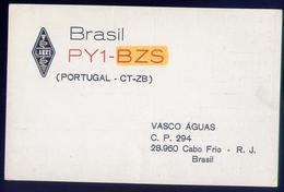 Radio - Brasil Pyi Bzs - Portugal Ct Zb - Cabo Frio R.j. - Radio Amatoriale