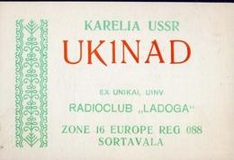 Radio - Club Ladoga - Uk1nad - Sortavala - Radio Amatoriale