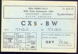 Radio - Cx5 Bw - Montevideo - Uruguay - Radio Amatoriale