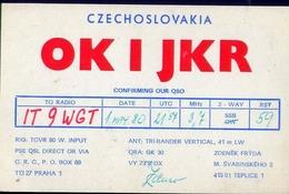 Radio - Czechoslovakia - Ok 3ijkkr - Praha - Radio Amatoriale