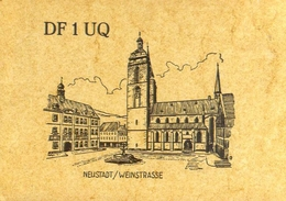 Radio - Df 1 Uq - Neustadt Weinstrasse - Germany - Radio Amatoriale