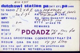 Radio - Dutchswl Station Pa2411xylpa2499 - Rotterdam - Radio Amatoriale