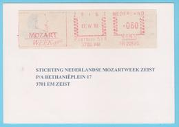 J.M. 28 - EMA - Pays-Bas - 51 - Compositeur - W.A. MOZART - Musique