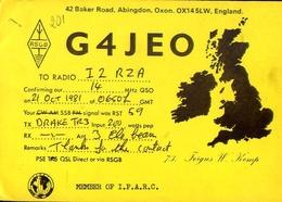 Radio - G4jeo - Oxon - England - Radio Amatoriale