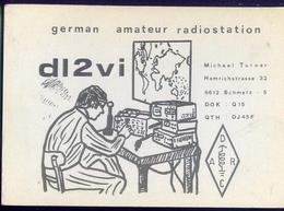 Radio - German Amateur Radiostation Dl2vbi - Schmelz - Radio Amatoriale