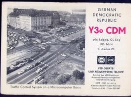 Radio - German Democrfatic  Republic - Y30cdm - Leipzig - Radio Amatoriale