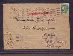 Lettre PG  De Villeurbanne 16.08.1940-> Berlin Renseignement Pour PG - Zensur/Censored/Censure   E - Storia Postale