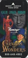 Flamingo Hilton Casino - Reno NV - Narrow Hotel Room Key Card - Hotel Keycards