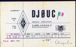 Radio - Germany - Djouc - Essen - Radio Amatoriale