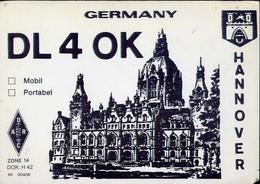 Radio - Germany Dl4ok - Hannover - Garbsen - Radio Amatoriale