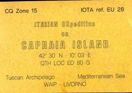 Radio - Italian Dxpedition On Capraia Island - Livorno- Settimo Milanese - Radio Amatoriale