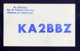 Radio - Ka2bbz  Cranbuey -n.j. - U.s.a. - Radio Amatoriale