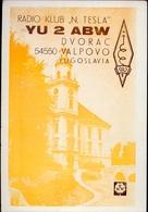 Radio - Klub N Tesla - Yu 2 Abw - Valpovo - Jugoslavia - Radio Amatoriale