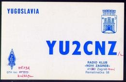 Radio - Klub Novi Zagreb - Yu2cnz - Zagreb Novi - Radio Amatoriale