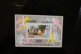 Ras Al Khaima Munich Olympic Games Souvenir Sheet Block MNH 1972 A04s - Ras Al-Khaima