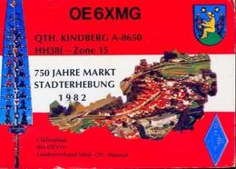 Radio - Oe6xmg - Qth Kindberg - Stadterhebung - Radio Amatoriale