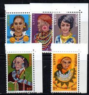 ETP277 - ETIOPIA 1976 ,  Serie Yvert  N. 776/780  ***  MNH  Acconciature - Etiopia