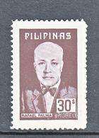 Filippine Philippines Philippinen Pilipinas 1977 Rafael Palma, 30s Singles - MNH ** (see Photo) - Filippine