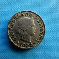 Switzerland 10 Rappen 1922 - Schweiz