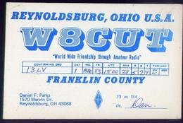 Radio - Reynoldsburg Ohio U.s.a. - W8cut - Marvin - Radio Amatoriale