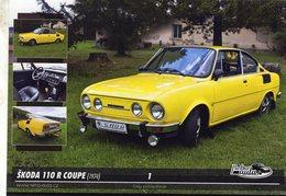 Voitures Tczech  -  SKODA 110 R COUPE  -  1974   -  CPM - Voitures De Tourisme
