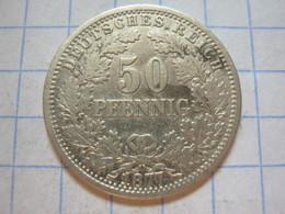 50 Pfennig 1877 (E) - [ 2] 1871-1918: Deutsches Kaiserreich