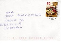 Brief Von 8990 Bad Aussee Mit 80 Cent Brettljause 2019 - 2011-... Briefe U. Dokumente