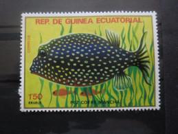 GUINEE EQUATORIALE Timbre Poisson Neuf ** - Guinée Equatoriale