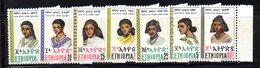 ETP283 - ETIOPIA 1977 , Yvert N. 837/843 ***  MNH  (2380A)  Acconciature - Etiopia