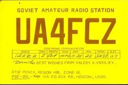 Radio - Soviet Amateur Radio Station Ua4fcz - Moscaw - Radio Amatoriale