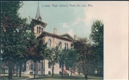 POSTAL WISCONSIN - HIGH SCHOOL - FOND DU LAC - WIS - G 30428 - PUBLIC - ESTADOS UNIDOS - Estados Unidos
